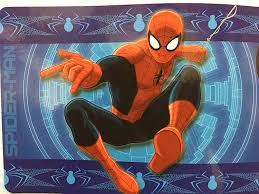 Amazon Com Disney All New Marvel 54 X 80 Super Soft Area Rug With Non Slip Backing Spider Man Kitchen Dining