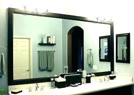 wood framed bathroom mirrors diy uk