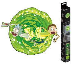 Rick Morty Portal Roomscapes Poster Decal 18 X 24 Walmart Com Walmart Com