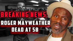 Roger Mayweather Dead at 58 - YouTube