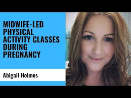 Midwife-led physical activity classes during pregnancy - YouTube