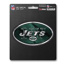 Nfl New York Jets 3d Decal Fanmats Sports Licensing Solutions Llc