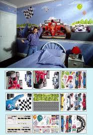Race Car Create A Wall Mural Large Kit Kids Wall Decor Store