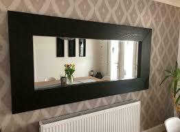 ikea mongstad mirror black in