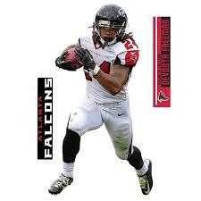 Atlanta Falcons Devonta Freeman Fathead 3 Pack Life Size Removable Wall Decal