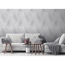 debona silver waves wallpaper