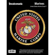 Amazon Com Marine Corps Car Decal Large 5 5 Usmc Vinyl Decal For Car Window Large Military Car Decals United States Military Stickers For Cars United States Marine Corps Car Sticker