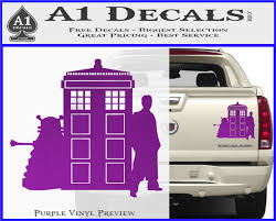 Doctor Who Tardis Dalek Int Decal Sticker A1 Decals