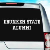 Awesome College Universities Car Decals Stickers