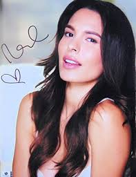 Nadine Velazquez Signed Autographed 11X14 Photo Sexy Flowing Hair ...