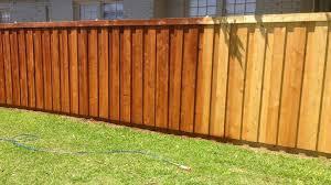 How We Stained Our New Cedar Wood Fence Cedar Fence Stain Wood Fence Cedar Wood Fence