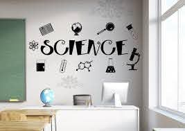 Science Decal Science Wall Decal Classroom Wall Decal Etsy