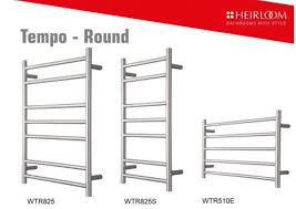 heirloom tempo round towel warmers