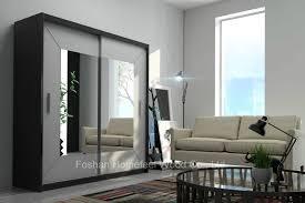 china black frame white sliding doors