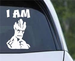 Guardians Of The Galaxy I Am Groot Vinyl Die Cut Decal Sticker Decals City