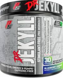 dr jekyll stimulant free pre workout