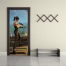 Fortnite Personalized Name Door Wrap Decal Removable Sticker D281 Decalz Co