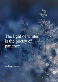 poems quotes about winter to welcome a new chapter snow