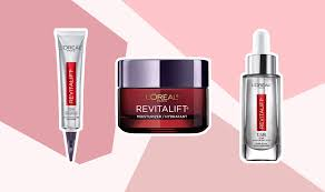 i tried the l oréal revitalift line and
