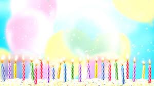 شموع مشتعلة للمونتاج عيد ميلاد بدقة Hd للمونتاج Youtube