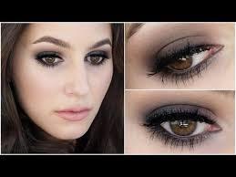 perfect makeup for black dress