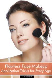 flawless face makeup application tricks