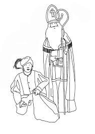 Kleurplaat Sinterklaas En Zwarte Piet Gratis Kleurplaten Om Te