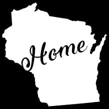 Amazon Com Home Sticker Wisconsin
