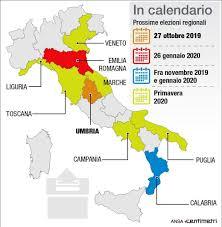 Elezioni regionali, tutto in ballo: c'erano una volta le regioni rosse
