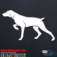 Hunting Pointer Dog Decal Window Sticker Hunting Decals