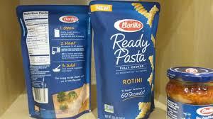 barilla launches ready pasta pouches to