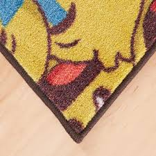 Mohawk Home Emoji Play Yellow 5 Ft X 8 Ft Theme Area Rug 051578 The Home Depot