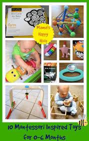 montessori inspired toys 0 to 6