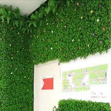 Leking Artificial Plant Plastic Garden Fake Fence Mat Panel Lattice Wall Decoration For Home Wedding Balcony Walmart Canada