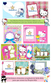 Kit Imprimible Hello Kitty Invitaciones Tarjetas Todo Para Tu Fiesta