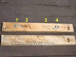wood saddle rack