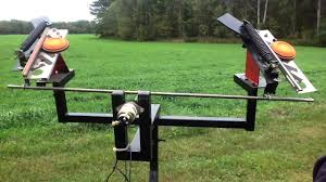 skeet shooter clay pigeon trap launcher