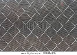 Steel Wire Mesh Fence Image Photo Free Trial Bigstock