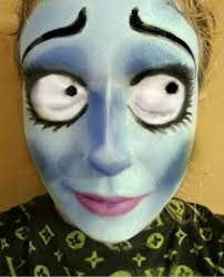 corpse bride makeup a rag doll makeup
