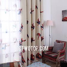 Kids Or Boys Bedroom Blackout Best Cheap Beige Spiderman Curtains