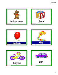 toys flashcards games