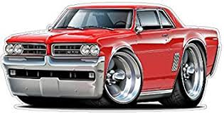 Amazon Com 1964 Gto Wall Decal 2ft Long Truck Vinyl Decals Stickers For Boys Cars Old Mens Bedroom Garage Man Cave Home Decor Baby
