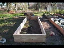 how to build raised beds for