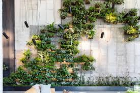 brooklyn hotel s dramatic living wall