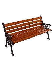 cast iron legs frp garden bench size