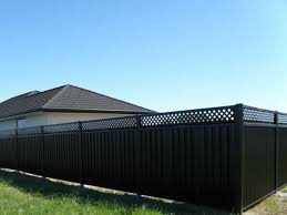 Colourpanel Lattice Top Fences Boundaryline New Zealand