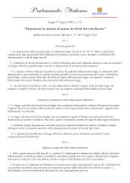 L212 00.pdf statuto del contribuente - Docsity