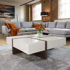 huge modern square 1000mm coffee table