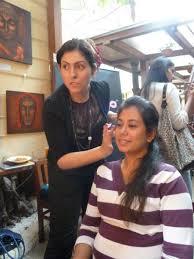 sara capela makeup artist in mumbai