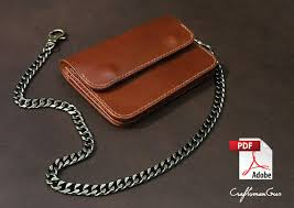 leather wallet pattern pdf files